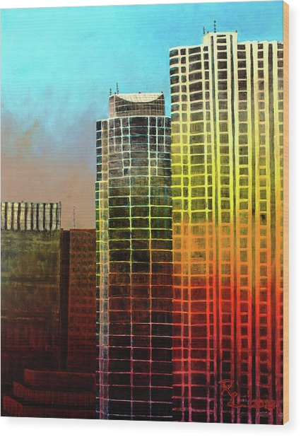 It Takes A Rainbow Wood Print