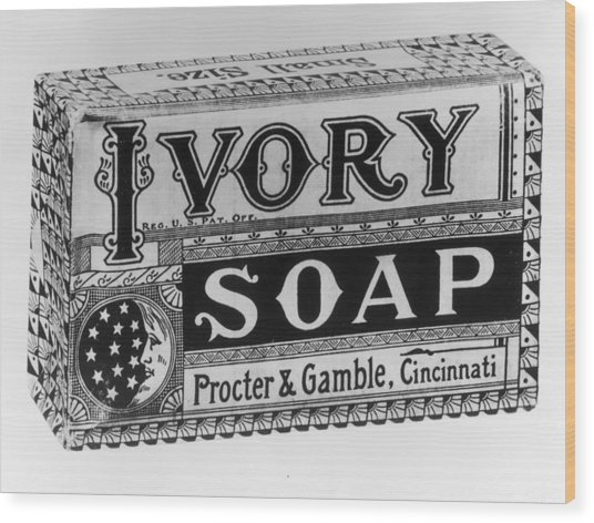 Ivory Soap Wood Print by Fotosearch