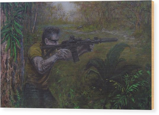 Jackson Wood Print