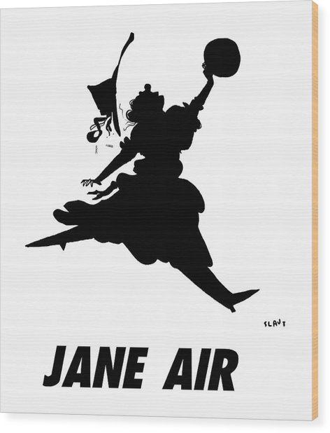 Jane Air Wood Print