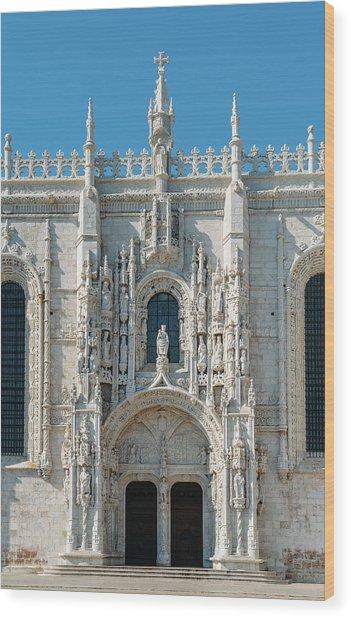 Jeronimos Monastery, Portugal Wood Print