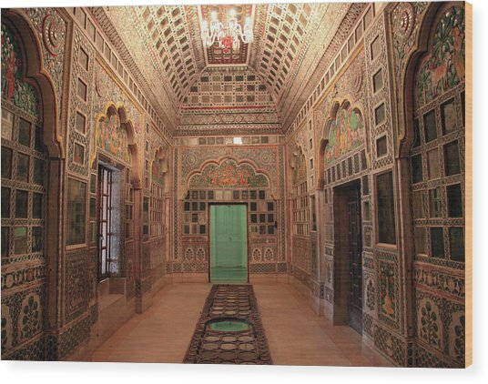 Jodhpur Fort Palace Wood Print by Milind Torney
