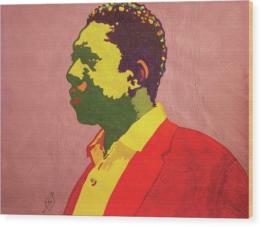 John Coltrane Wood Print
