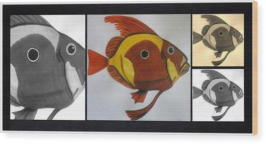 John Dory - Multi Wood Print