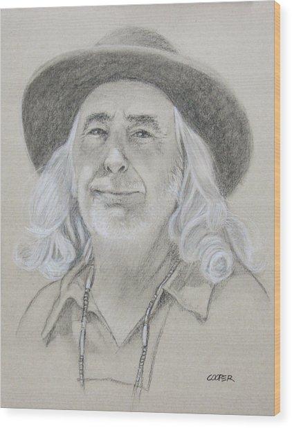 John West Wood Print