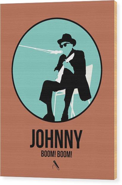 Johnny Lee Hooker  Wood Print