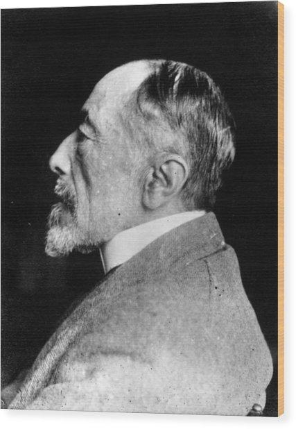 Joseph Conrad Wood Print by Spicer-simson