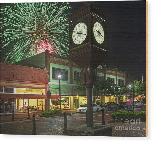 July 4th Sanford, Florida Wood Print