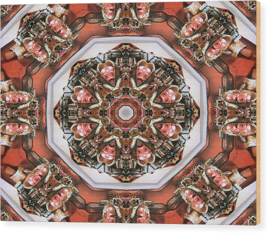 Kaleidoscope Of Apple Still Life Wood Print
