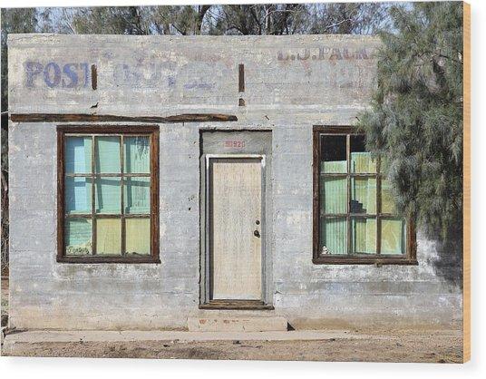 Kelso Post Office Wood Print