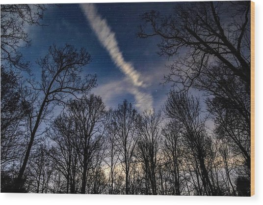 Kentucky Sky Wood Print