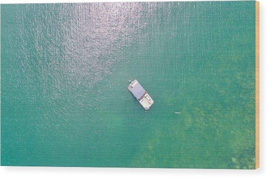 Keuka Lake Boating Wood Print