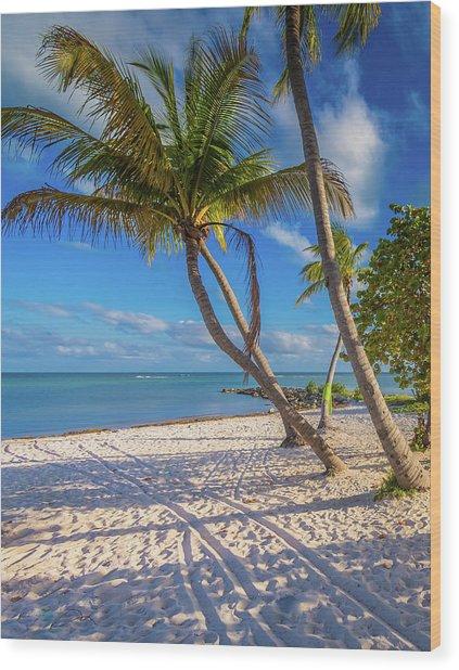 Key West Florida Wood Print