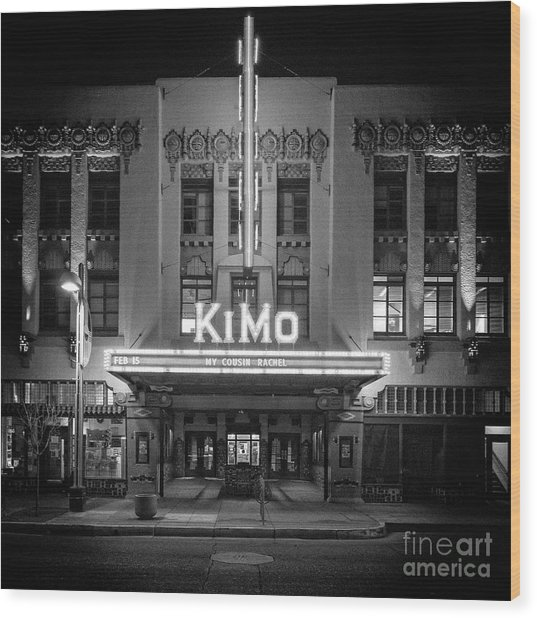 Kimo Theater Wood Print