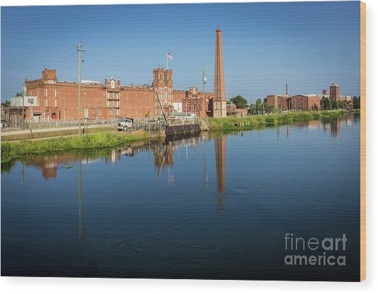 King Mill - Augusta Ga 1 Wood Print