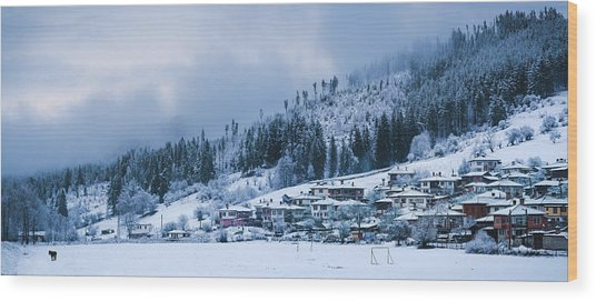 Koprivshtica Winter Panorama Wood Print