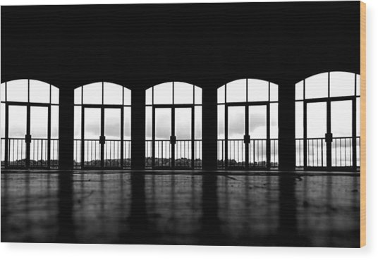 Kresge Stage Wood Print