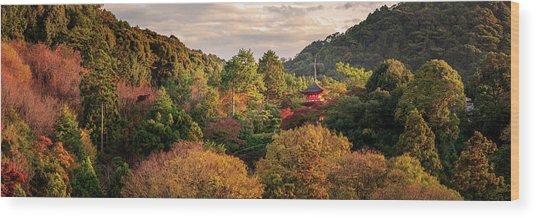 Higashiyama, Kyoto Wood Print