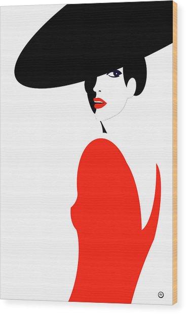 La Belle Dame 1 Wood Print