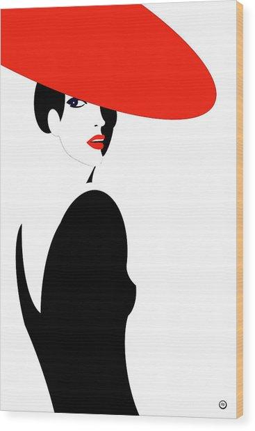 La Belle Dame 2 Wood Print