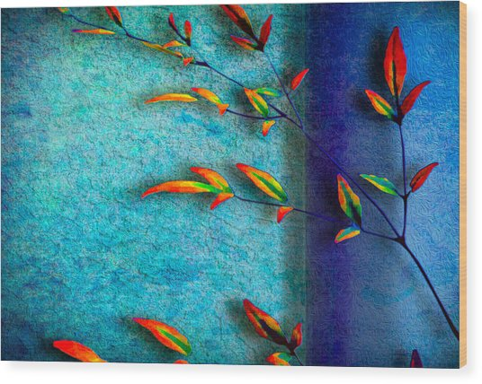 La Branche Wood Print