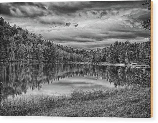 Lake Effect Wood Print