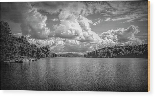 Lake Sunapee Wood Print