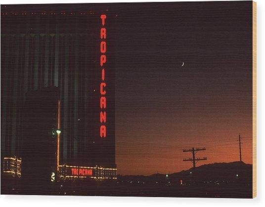 Las Vegas 1984 #1 Wood Print