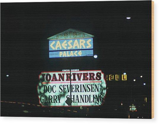 Las Vegas 1984 #10 Wood Print