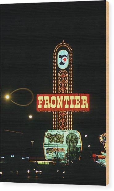Las Vegas 1984 #12 Wood Print