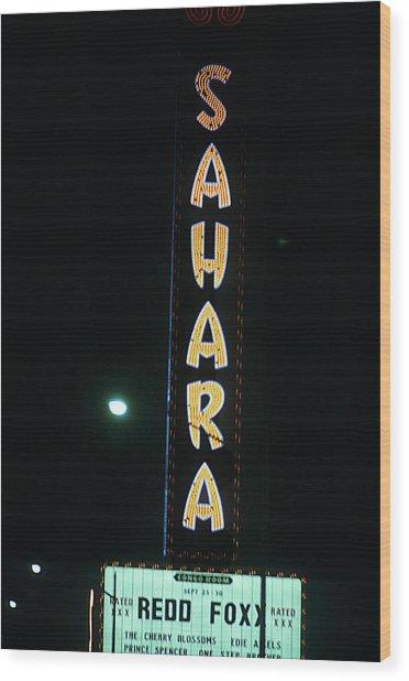 Las Vegas 1984 #14 Wood Print