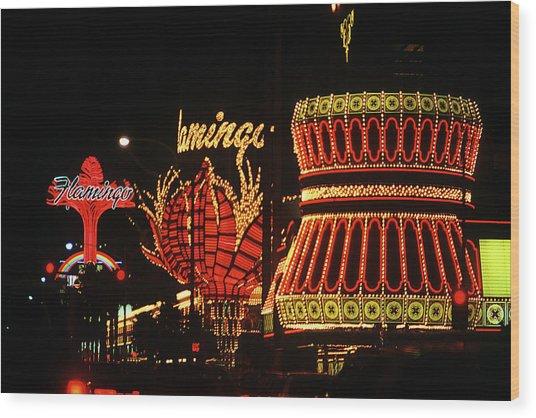 Las Vegas 1984 #2 Wood Print