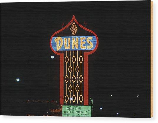Las Vegas 1984 #7 Wood Print
