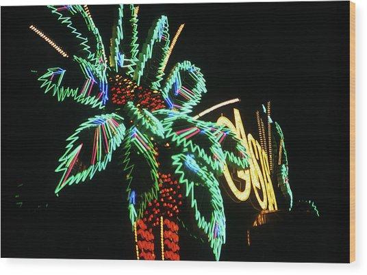Las Vegas 1984 #9 Wood Print