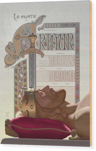 Le Morte D'arthur Wood Print
