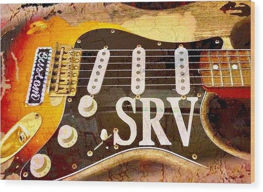 Lenny Stevie Ray Vaughans Guitar Wood Print