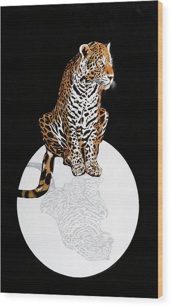 Leopardo Da Vinci Wood Print
