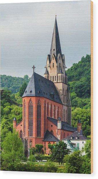 Liebfrauenkirche Oberwesel Wood Print