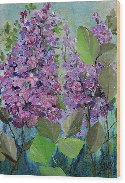 Lilac Love Wood Print