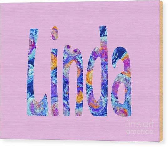 Linda 2 Wood Print
