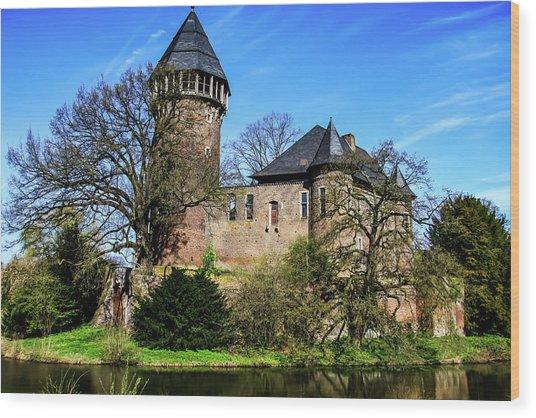 Linn Castle Wood Print