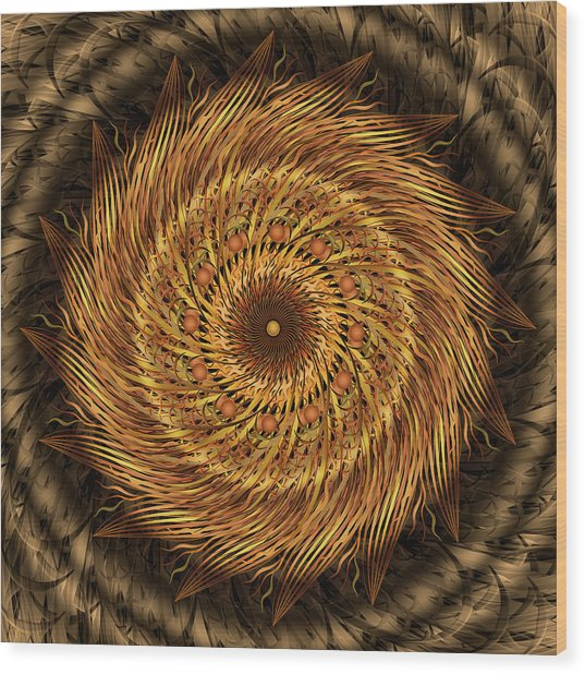 Listen To The Wind Wood Print