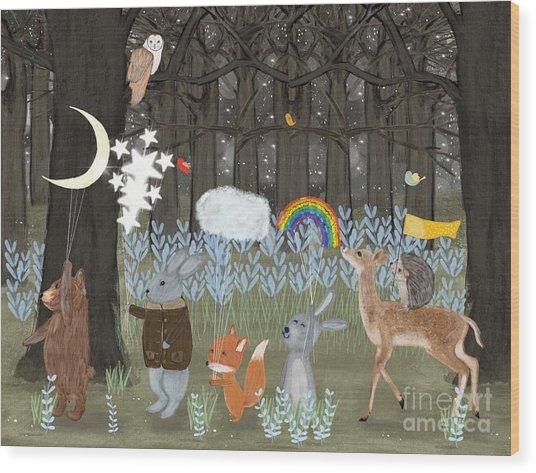 Little Seasons Wood Print by Bri Buckley