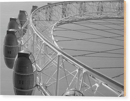 London_eye_ii Wood Print