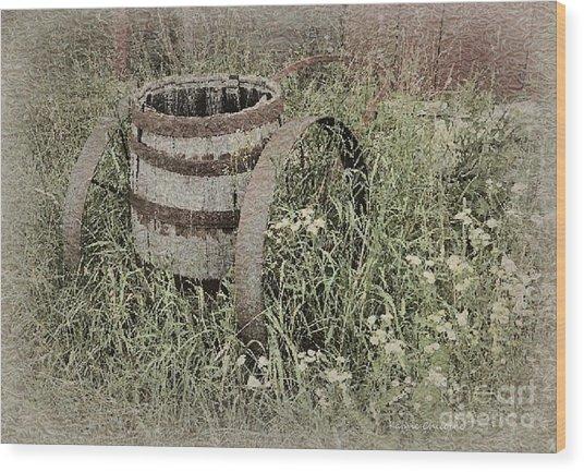 Long Ago Wood Print