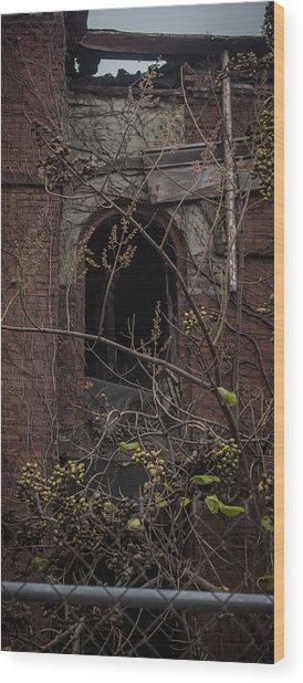 Loss Of Light Wood Print