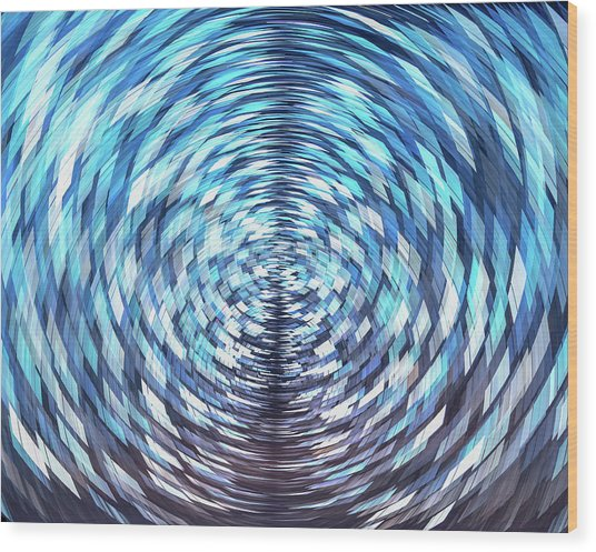 Lost In Hyperspace 10x8 Wood Print