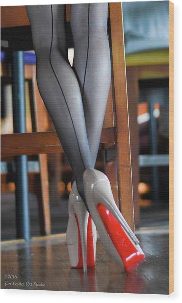 Louboutin Wood Print