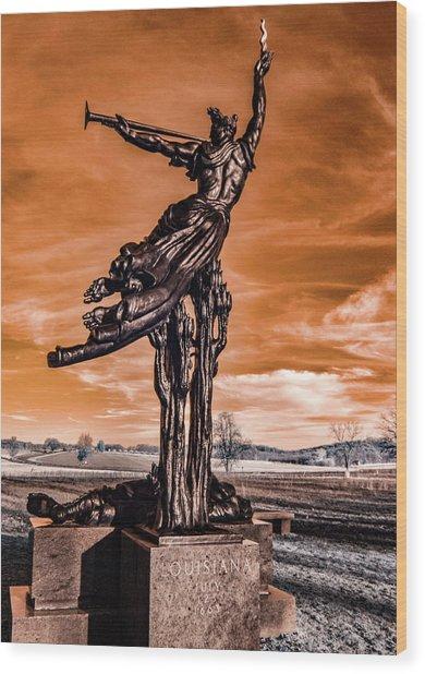 Louisiana Monument Wood Print