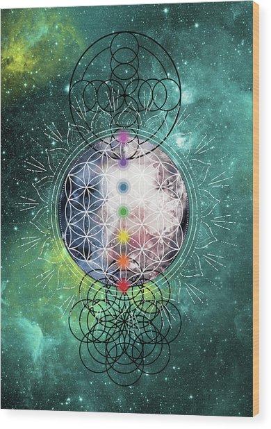 Lunar Mysteries Wood Print